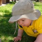 Crawling on Grass 9 months